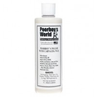 POORBOY'S WORLD Polish with Carnauba Wax 473ml
