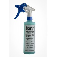 POORBOY'S WORLD Spray & Wipe Waterless
