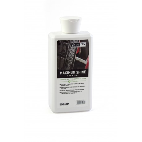 VALET PRO Maximum Shine Tyre Gel - dressing do opon