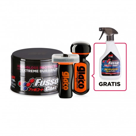 ZESTAW Fusso Coat 12 Months+Ultra Glaco+Glaco Compound RollOn+Fusso Coat Speed&Barrier GRATIS!