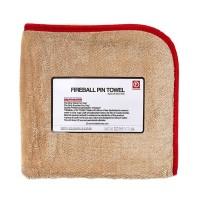 FIREBALL PIN TOWEL RED - ręcznik do osuszania