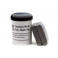 POORBOY'S WORLD Poly Elastic Clay Bar